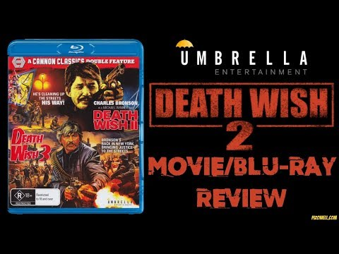 DEATH WISH 2 (1982) - Movie/Blu-ray Review (Umbrella Entertainment)