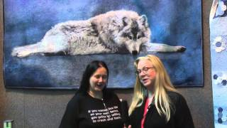 Festival of Quilts 2013 - Birmingham UK - Ferret's Wolf