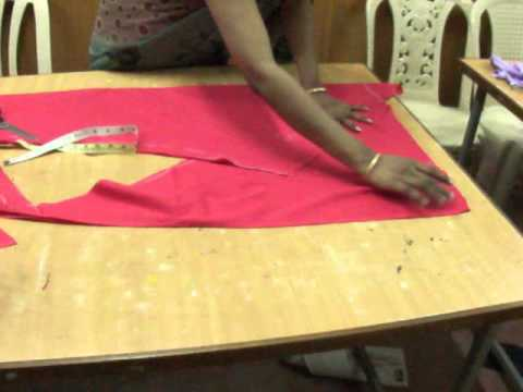 churidar - The cutting process is easy ,you can easily cut the chudidar and stitch by following the guidelines shown in the video.-- Padmaja, Designer, KIFT-- KURNOOL .