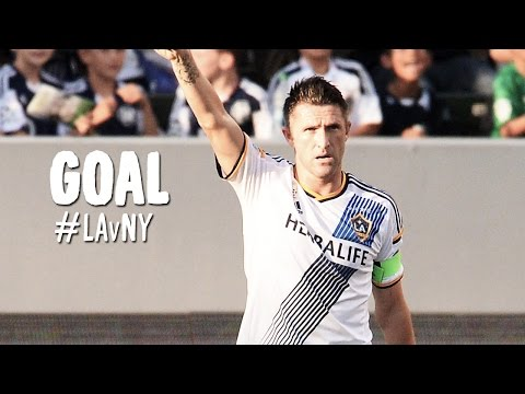 it - Goal! LA Galaxy 4, New York Red Bulls 0. Robbie Keane (LA Galaxy) right footed shot from the right side of the six yard box to the center of the goal. Subscribe to our channel for more soccer...
