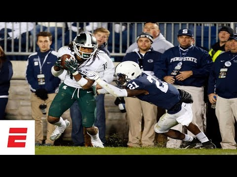 Michigan State Rallies To Upset No. 8 Penn State | College Football Highlights