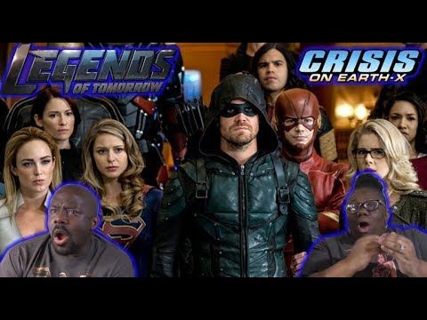 CRISIS ON EARTH X pt 4 {LEGENDS OF TOMORROW 3x8} REACTION!!