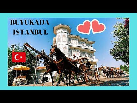 Istanbul: Exploring BÜYÜKADA 😲 (the most beautiful of the Princes Islands), Turkey
