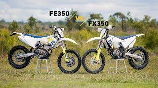 10. Husqvarna Head-To-Head: 2019 FE350 vs FX350