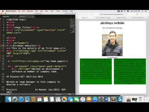 "10- HTML| forms ""button"",""ration"",""text""|  بناء النماذج"