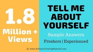 Tell Me About Yourself Interview Question with Sample Answer ✓