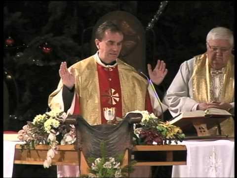 2014-01-06 Vízkereszti szentmise a Gazdagréti Szent Angyalok Plébánián