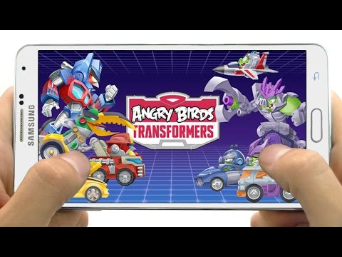 angry birds transformers android download