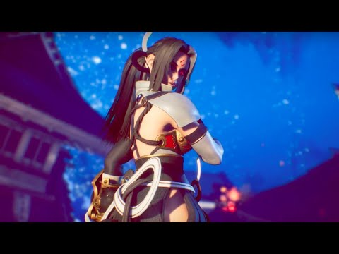 Fighting EX Layer Official Shirase Trailer