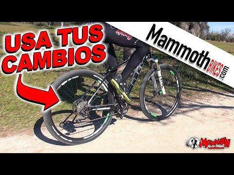 Cómo usar los cambios de la bicicleta correctamente