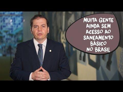 Rodrigo de Castro: sem acesso ao saneamento básico