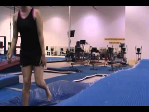 Amy's Gymnastics September 2010