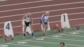 Two 90-Year-Olds Compete In Sprint Race