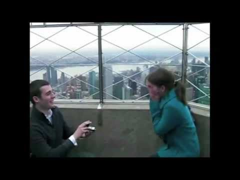 The Best Marriage Proposals and Engagements Ever - The Best You Can Give - Tony DeSare