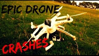 Drone videos of some epic fails and drone crashes while flying. Anyone who has ever flown a multicopter will know that not every flight ends in a soft landin...