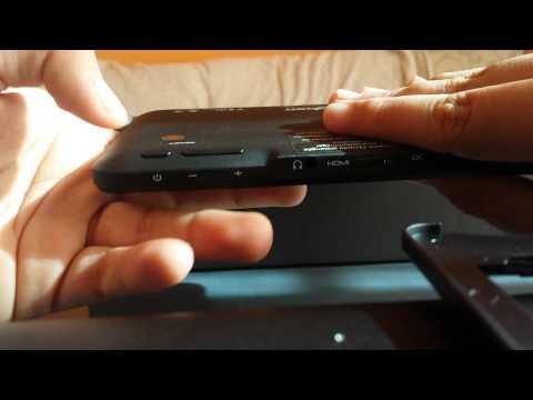 Tablet tab one de big ben unboxing