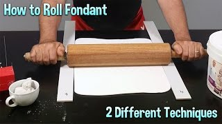 In this free tutorial, Serdar Yener will show you his methods for rolling fondant.