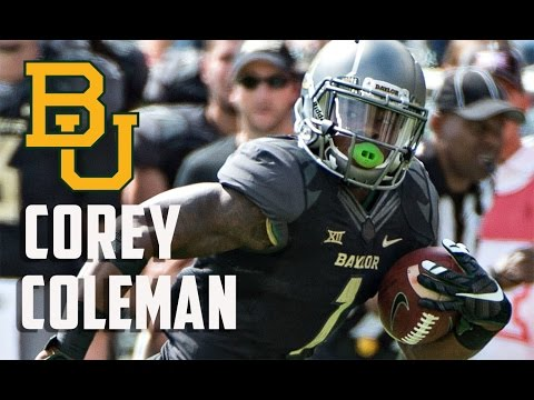 Browns Draft Baylor Receiver Corey Coleman With 15th Overall Pick