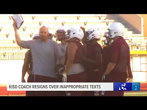 KISD coach resigns over inappropriate texts