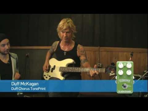 Duff Chorus - Duff McKagan's Chorus Corona TonePrint from TC Electronic