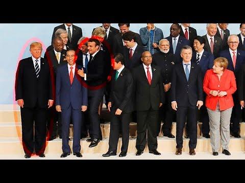 شاهد..موقف طريف أثناء التقاط الصورة التذكارية لقمة مجموعة العشرين