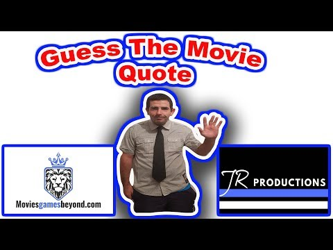 Thank you quotes - Guess The Movie Quote  Quotes  Movie