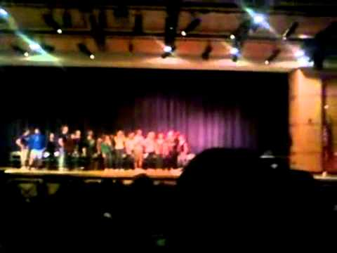 michael ray comedic hypnotist 3/16/12 at Columbia High Schoo