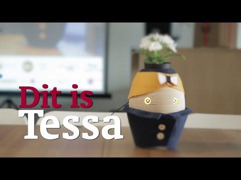 Tessa, robot social, maison, démence