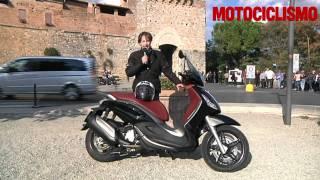 4. Piaggio Beverly Sport Touring 350: test