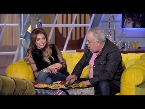 شيماء سيف تدعو روجينا وأشرف زكي لتناول الطعام الهندي
