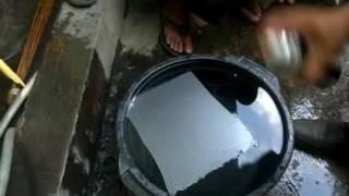 Teknik Simple menggunakan water transfer film