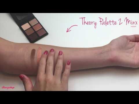 Viseart Viseart Theory Eyeshadow Palette 2 Minx
