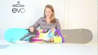 Burton Lip-Stick Snowboard - Women's 2013