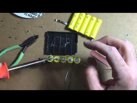 Make your own RC Car Battery Pack or Repair NIKKO Ni-Cd 6.0V-620mAh