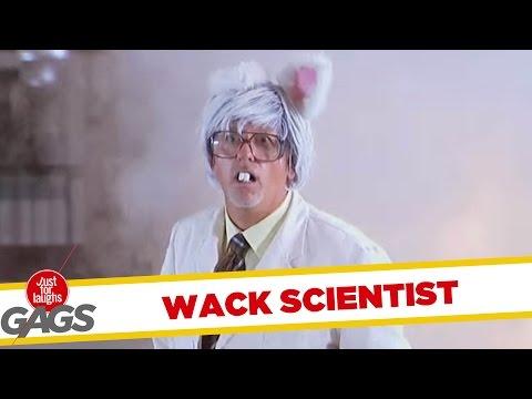 Wacky Mad Scientist Pranks