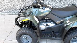 7. 2011 Arctic Cat 300 ATV