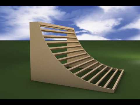Halfpipe - A demonstrative video of how to build a halfpipe.