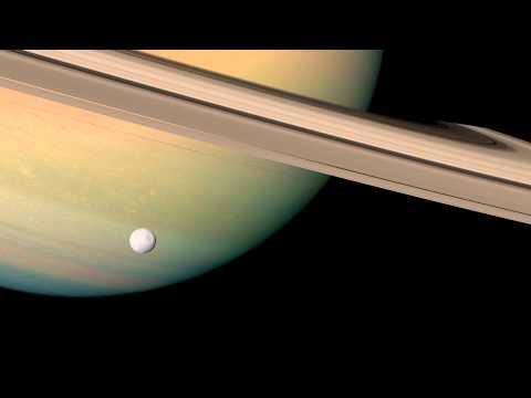 Saturn spinning gif
