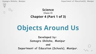 Chapter 4 (Part 1 of 3) - Objects around us