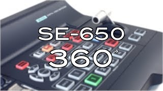 Datavideo SE-650 HD 4-Channel Digital Video Switcher 360° Video