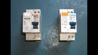 Voltage dependent and independent RCBO