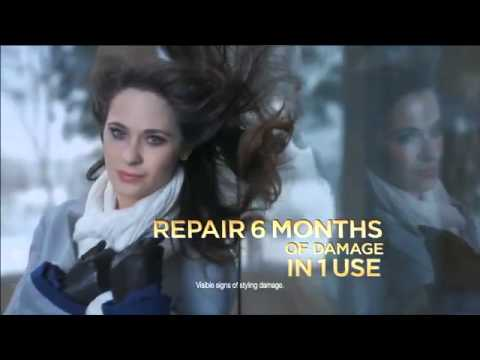 Damaged Hair Repair Shampoo Commercial