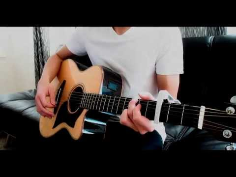 Sword Art Online Ed 1 Yume Sekai Acoustic Guitar Cover