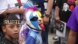 Wrestling in the name of the Father – Buff luchadores get masked up for religious pilgrimage