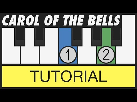 Carol of the Bells - How to Play - Easy Piano Tutorial - Christmas Songs