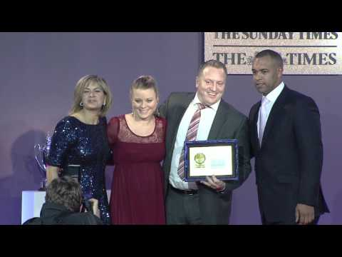 Times & Sunday Times Awards - Gold for Customer Service