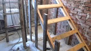 Изготовление бетонной лестницы. ч.1