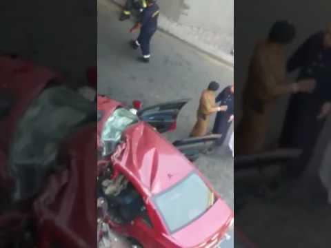العرب اليوم - وفاة طالبين إثر حادث سير مروع في مكة