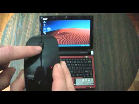 The 2.4GHZ Wireless Mouse Unboxing Review And Instructions
