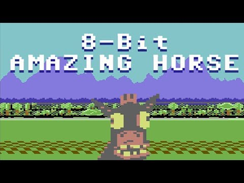 8-Bit Amazing Horse